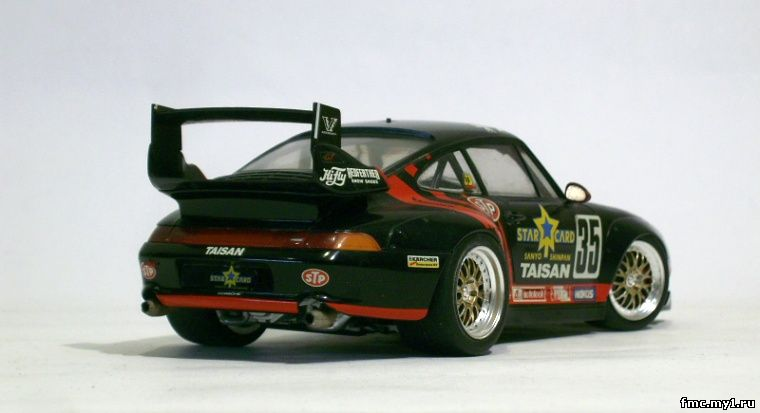 1 24 tamiya taisan starcard porsche 911 gt2 by admin 1 24. Black Bedroom Furniture Sets. Home Design Ideas